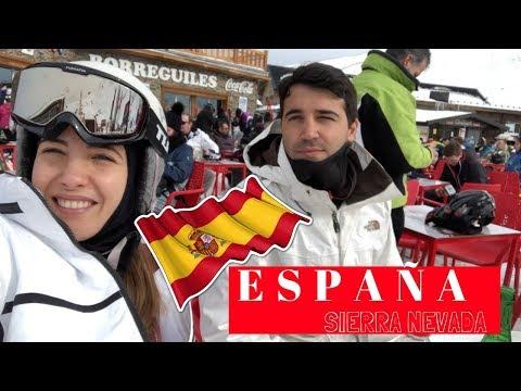 VLOG España parte II, Nos vamos a Esquiar y el Virus nos Ataca!