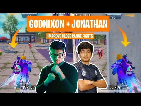 Best Tips To Improve Close Range Fights In PUBG MOBILE ft - @JONATHAN GAMING