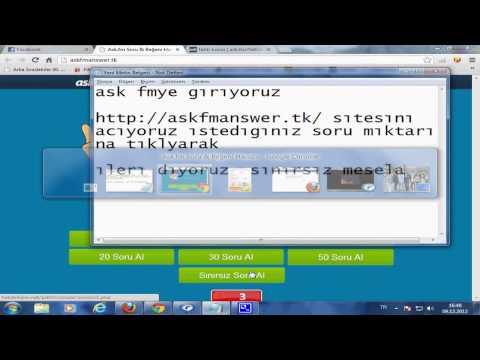 AskFmAnswer.tk | AskFm Soru Kazanın | Ücretsiz