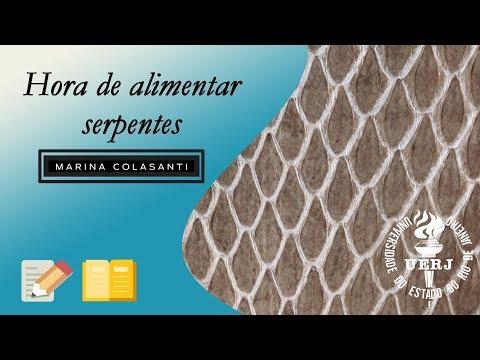 UERJ   RESENHA: Hora de Alimentar Serpentes, de Marina Colasanti