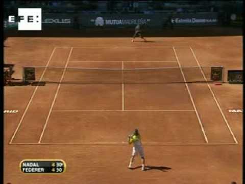 La Victoria de Federer ante Nadal en Madrid (2009)
