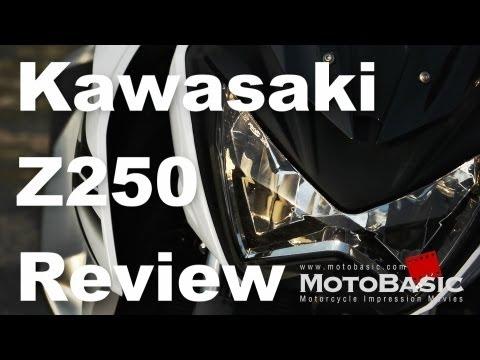 カワサキ Z250 (2013) 速報バイク試乗レビュー Kawasaki Z250 (2013) Short Review