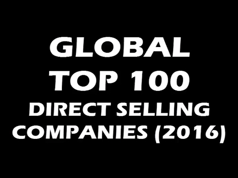 GLOBAL TOP 100 DIRECT SELLING COMPANIES (2016)