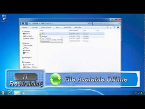 MCTS 70-680: Offline files