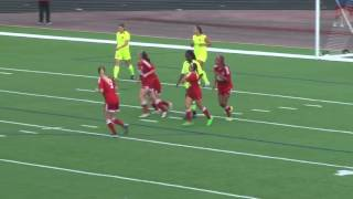 Casie Ramsier with her first goal in WPSL.