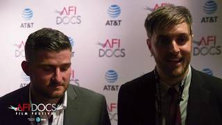 TOUGH GUYS directors Henry Roosevelt and W.B. Zullo along with producer Craig DiBiase at the documentary's world premiere at AFI DOCS 2017.