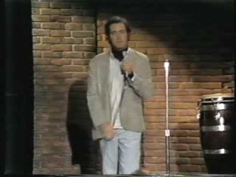 Andy Kaufman on HBO Young Comedians 1977