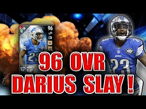 EVEN OUT THE PLAYING FIELD EA! (96 DARIUS SLAY GAMEPLAY) - MADDEN NFL 17 ULTIMATE TEAM (видео)