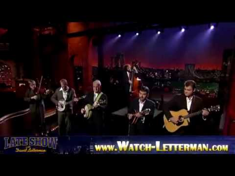 Steve Martin music performance !!! @ Late Show with David Letterman [ PART 3 ] October 5 2009