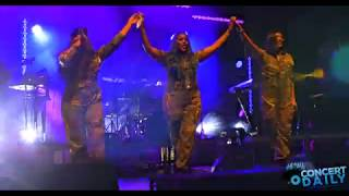 "SWV performs ""Weak"" live at Baltimore Artscape 2019 4K Quality"