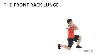 The Front Rack Lunge