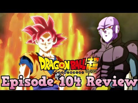 Dragon Ball Super Episode 104 Review: A Faster Than Light Battle Begins! Goku and Hit's Joint Front! (видео)