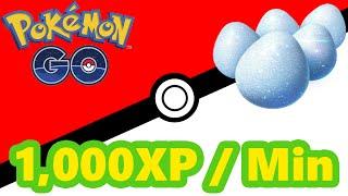 Pokémon GO Farmando 1,000 XP Por Minuto by Pokémon GO Gameplay