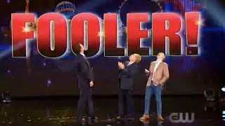 Magician makes history on Penn & Teller Fool Us - surprise judgement!