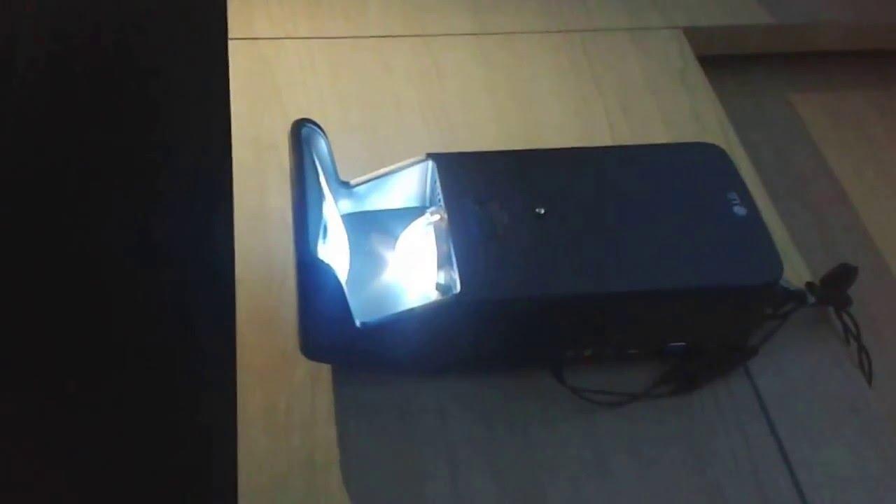 LG показала невероятно удобный и компактный домашний проектор