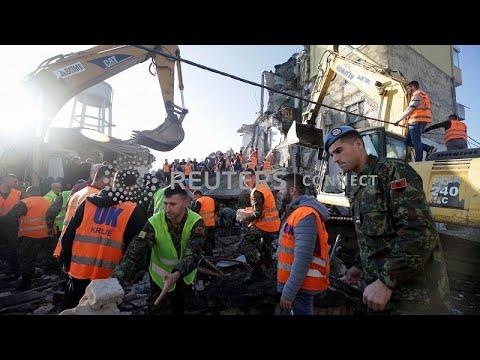 Φονικός σεισμός στην Αλβανία