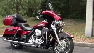 6. Used 2013 Harley Davidson Electra Glide Ultra Limited Motorcycles for sale in Hudson FL