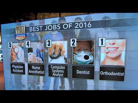 U.S. News & World Report reveals best jobs of 2016