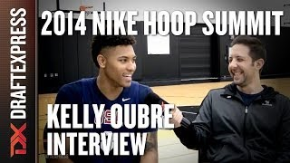 Kelly Oubre - 2014 Nike Hoop Summit - Interview