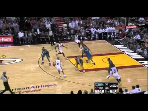 Gilbert Arenas Steal vs. Heat