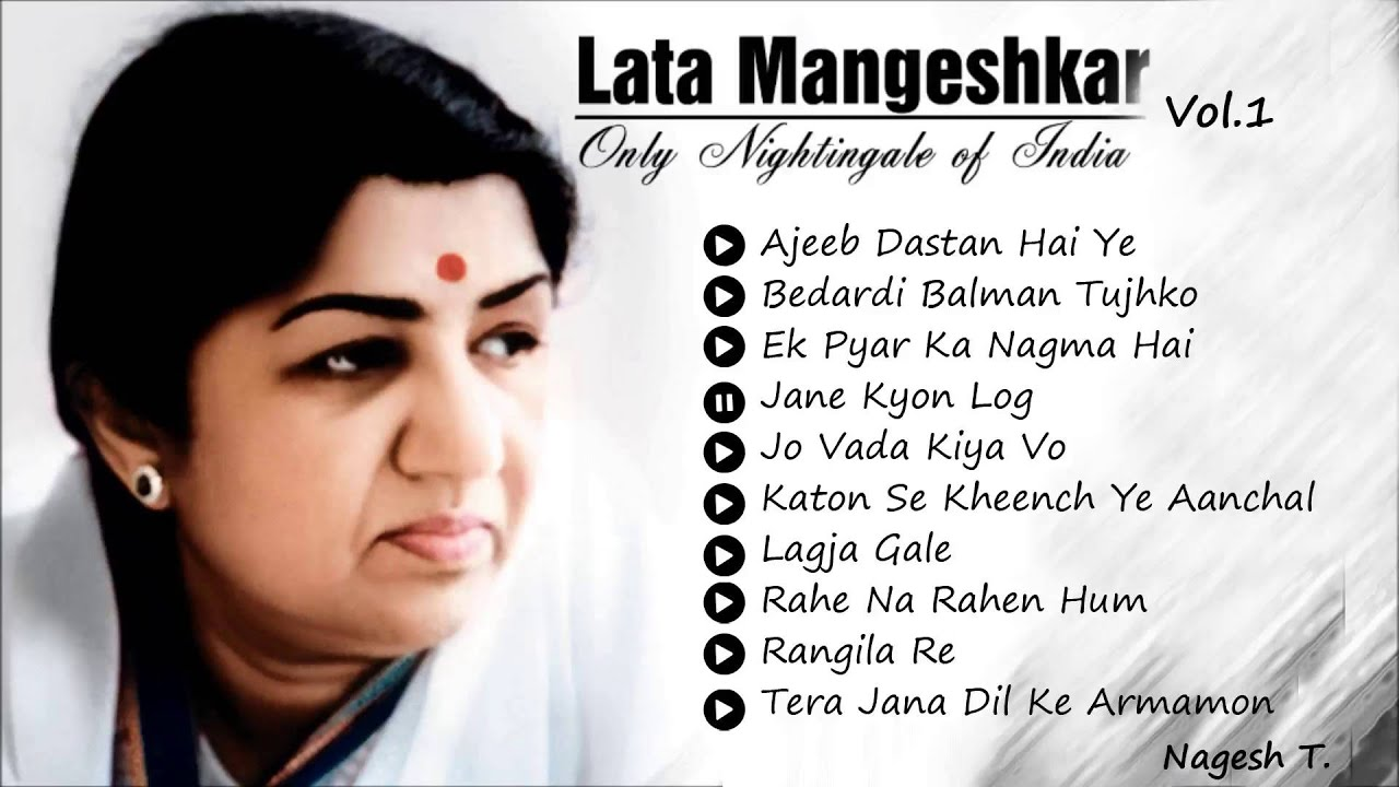 Best Of  Lata Mangeshkar – Old Hindi Instrumental Songs – Superhit Bollywood Collections – Vol.1