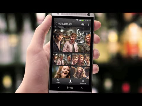 The new HTC One - Instantly create and share events with Video Highlights