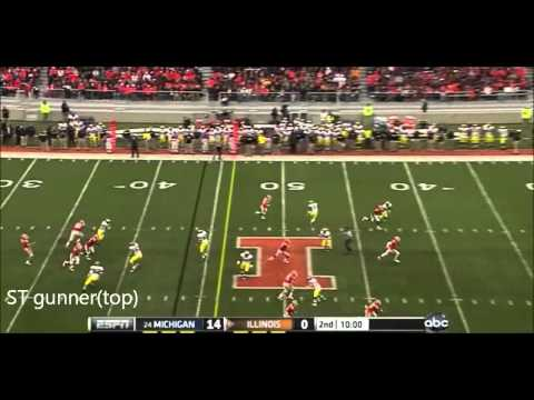 Tavon Wilson vs Michigan 2011 video.