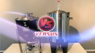 IN THIS VIDEO I COMPARE TWO OF THE BEST CONICAL FERMENTERS ON THE MARKET TODAY. THE SS BREW TECH...