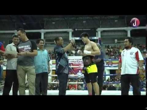 Sekitar Perasmian Kejohanan Muay Thai Terbuka Peringkat Negeri Johor Siri Ke-2 2015