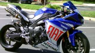 8. Contra Costa Powersports-Used 2010 Yamaha YZF-R1 LE Rossi Signature Ed. 1000cc Superbike motorcycle