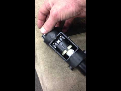 How to replace Mercedes s class S500 S420 W140 ignition lock switch