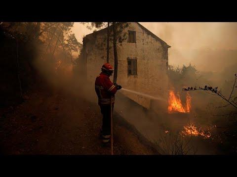 Μεγάλες φωτιές σε Γαλλία, Ιταλία και Πορτογαλία
