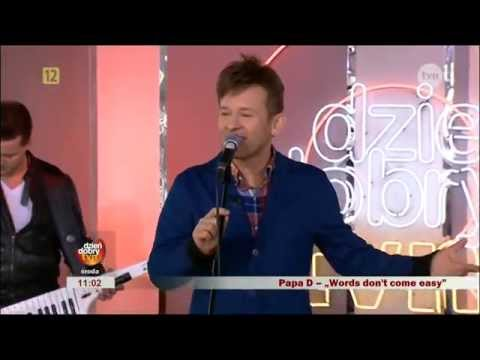 Tekst piosenki Papa D - Words po polsku