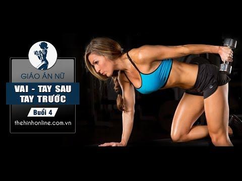 GYMER Phái nữ - Fitness Free Weight nhập môn buổi 4 - Vai xinh xắn - Tay dẻo dai - Hương Trần