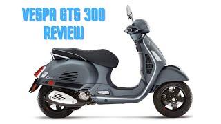 2. Vespa GTS 300 Super ABS ASR Review