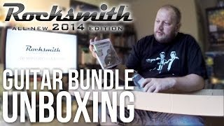 In this video James unboxes and reviews the guitar bundle for Rocksmith 2014 edition (PS3 version), which includes the game...
