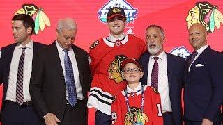 Chicago Blackhawks draft F Kirby Dach No. 3 by NHL