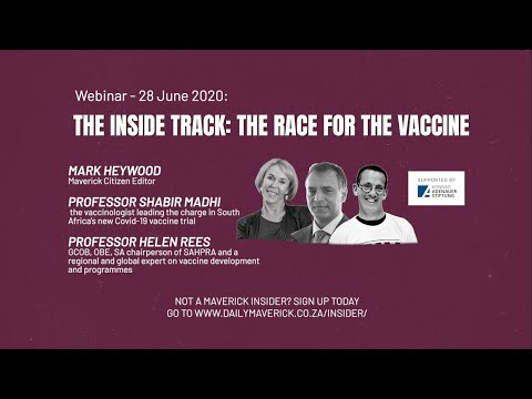 The Inside Track: The Race For The Vaccine