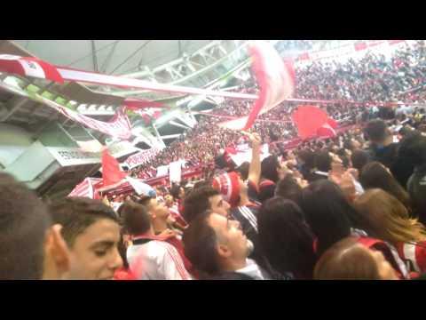 """""""Hoy te vinimos a ver """"( recibimiento) - Los Leales - Estudiantes de La Plata"""
