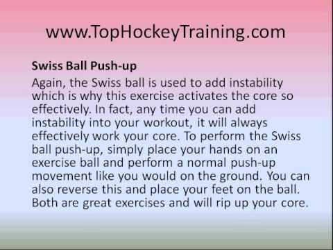 Hockey Workouts – 3 Ultimate Core Training Exercises For Ice Hockey Players