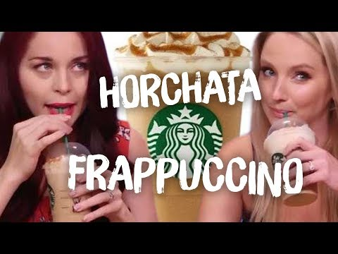 Trying the Horchata Frappuccino & OTHERS! (Cheat Day)