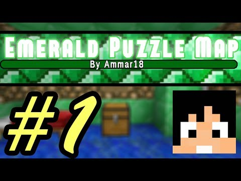 Tackle⁴⁸²⁶ Minecraft Custom Map - Emerald Puzzle #1