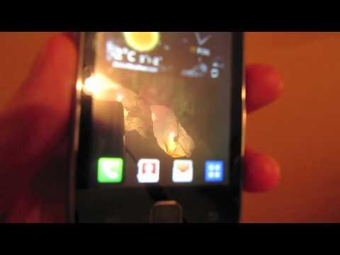 Samsung Galaxy Y - test i recenzja