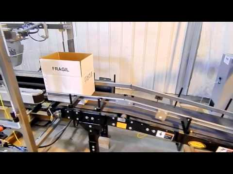 E2500 Drop Packer System for Bottles 100 bpm