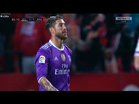 Sevilla vs Real Madrid 2-1 All Goals & Extended Highlights - La Liga 15/01/2017 HD - New 1018