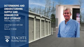 Determining and Understanding Supply and Demand for Self-Storage