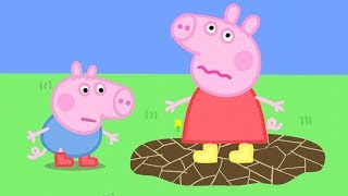 Peppa Pig Official Channel   Peppa Pig's Muddle Puddle Jump