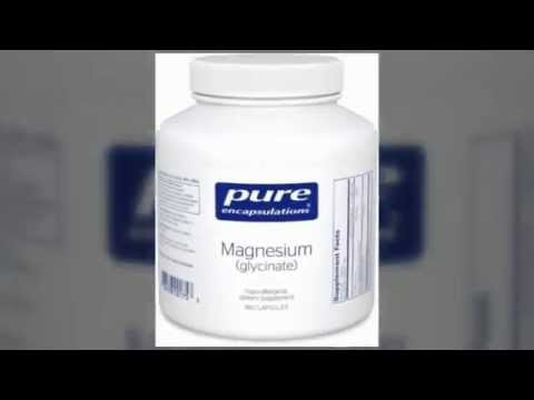 Health AND Personal Care: Pure  Magnesium Glycinate Encapsulations  180's - 360