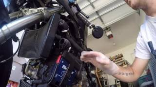 10. Ducati 848 Head/Spark plug gasket change