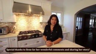 Testimonial & Tour of Two Island Design Build Kitchen Remodel in Fountain Valley by APlus Kitchen